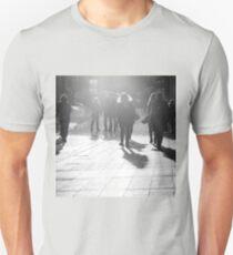 Pedestrians in Helsinki Unisex T-Shirt