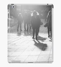 Pedestrians in Helsinki iPad Case/Skin