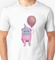 Party pug Unisex T-Shirt