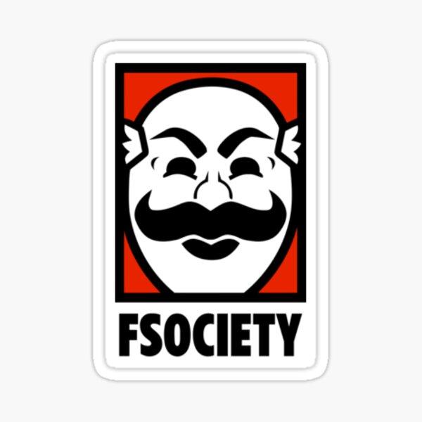 FSociety - Mr.Robot Sticker