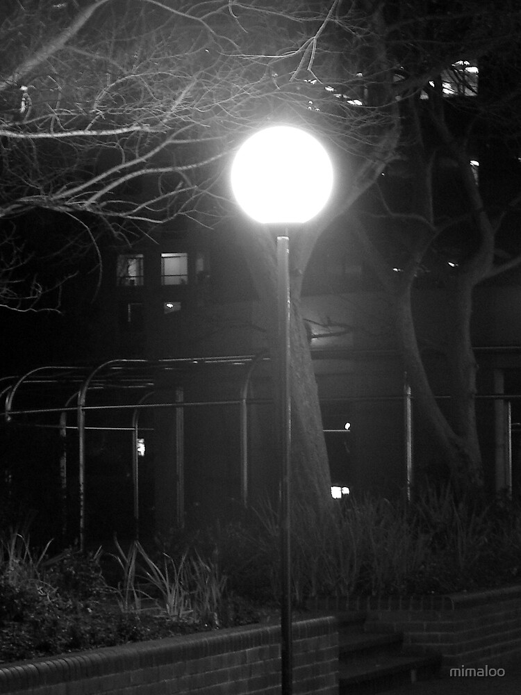 Magical street lamp by mimaloo