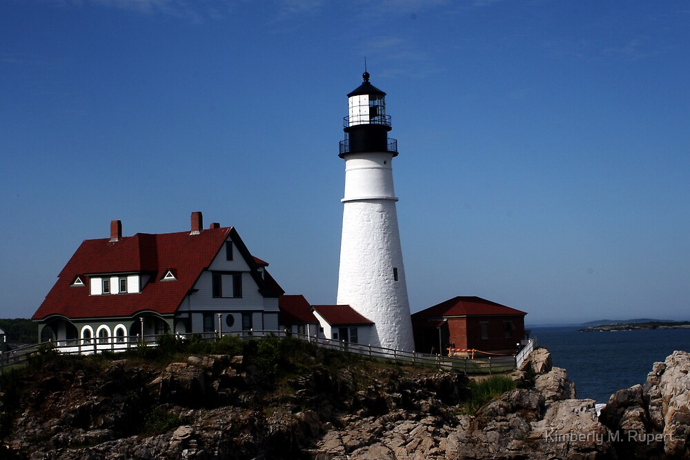 Portland Head Light by Kimberly M. Rupert