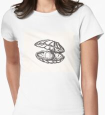 ball perl Women's Fitted T-Shirt