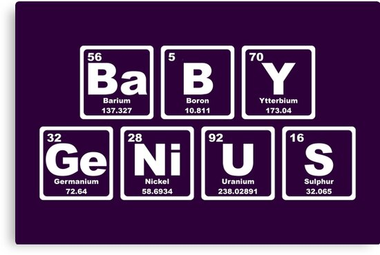 Baby Genius - Periodic Table by graphix
