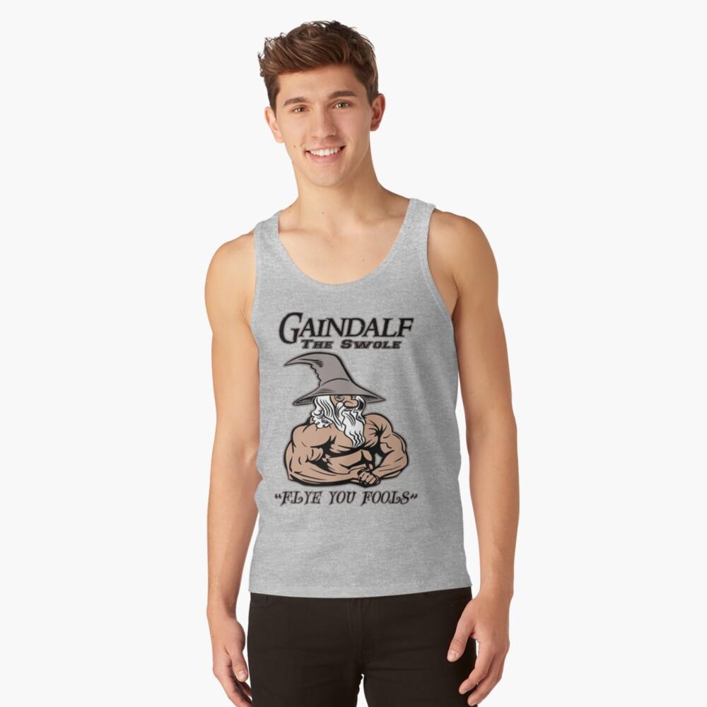 Gaindalf The Swole Tank Top