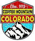 COPPER MOUNTAIN COLORADO Ski Skiing Mountain Mountains Skiing Skis Silhouette Snowboard Snowboarding 3 by MyHandmadeSigns