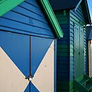 Beach Huts, Brighton, Victoria by nsoup