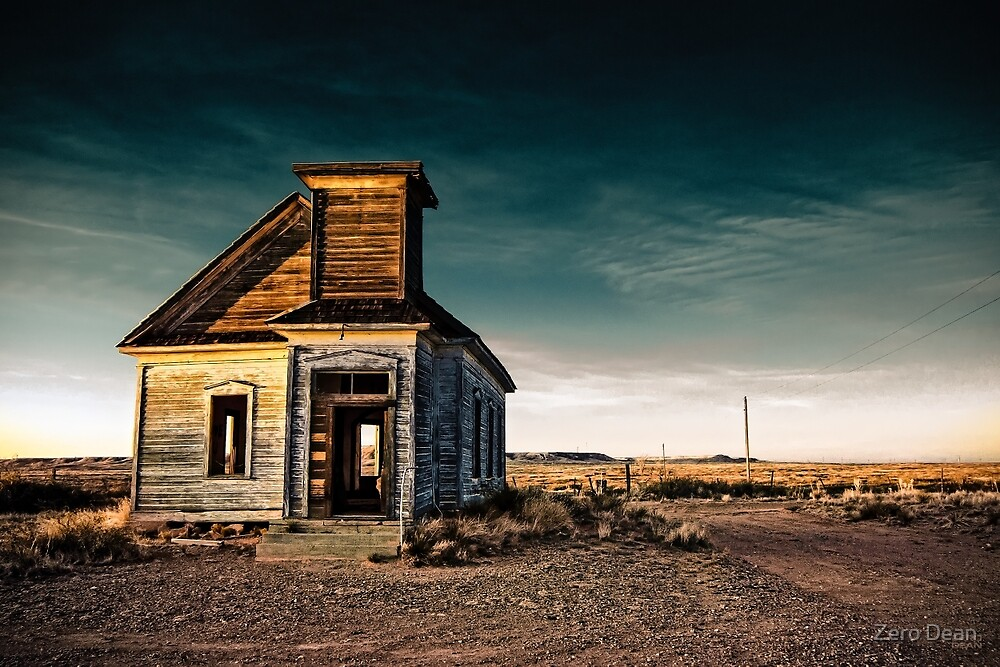 Abandoned Church. New Mexico. by Zero Dean