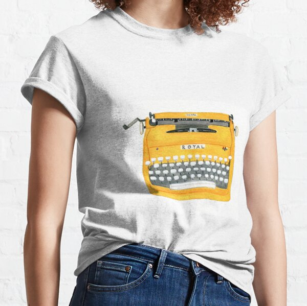 Vintage Typewriter Classic T-Shirt