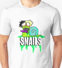 Snails Custom Cartoon T-Shirt