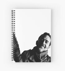 negan | b&w  Spiral Notebook