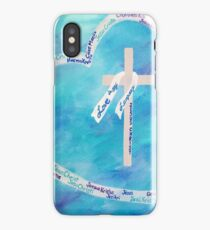 Love In Any Language Cross iPhone Case