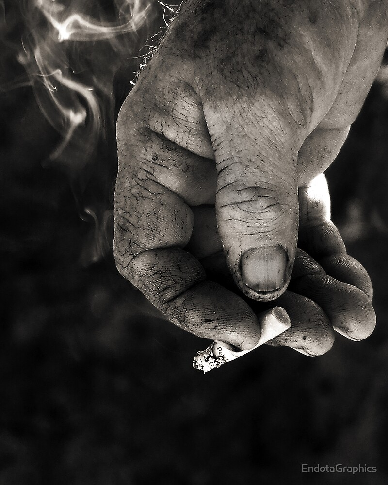 Smoke In Hand by EndotaGraphics