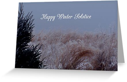 Happy winter solstice greeting cards by wildthingphotos redbubble happy winter solstice by wildthingphotos m4hsunfo