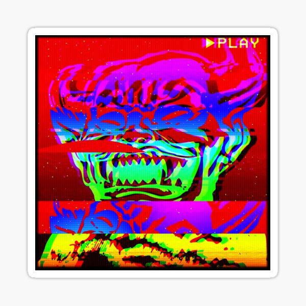 Glitch Hob Sticker