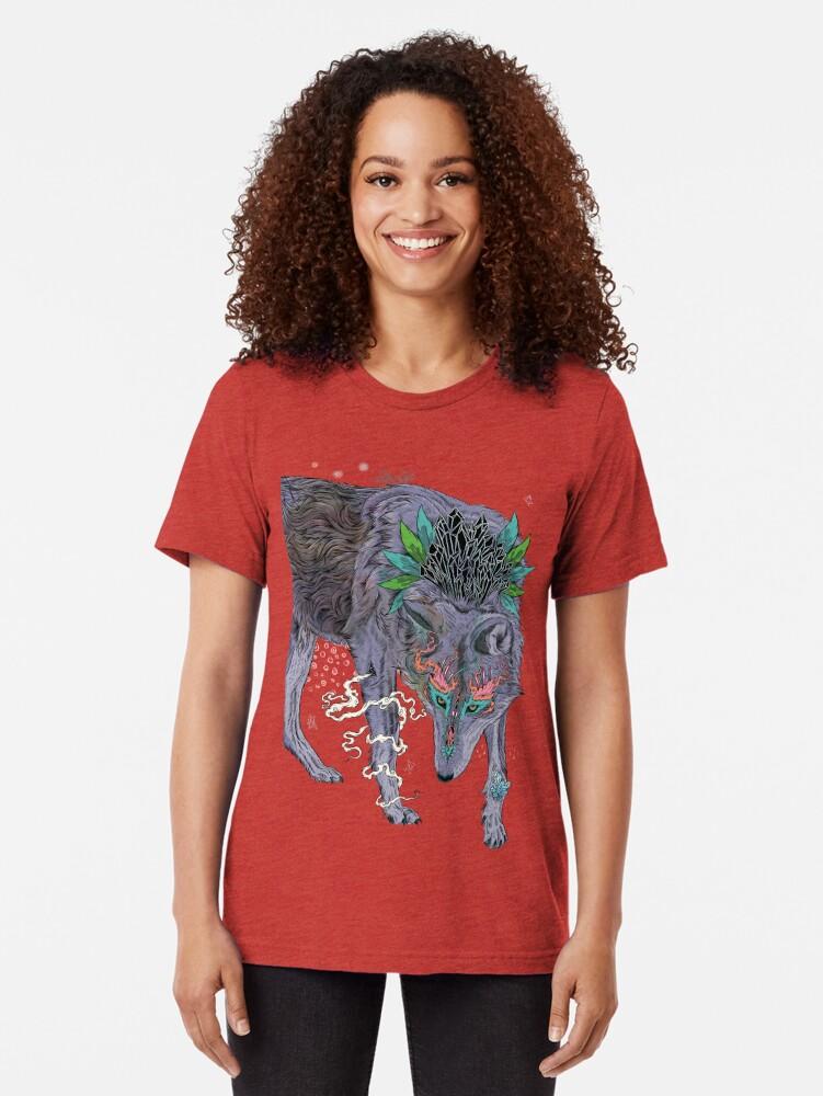 Alternate view of Journeying Spirit Tri-blend T-Shirt
