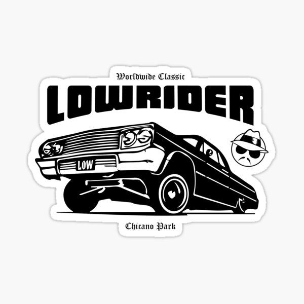 Lowrider Stickers | Redbubble
