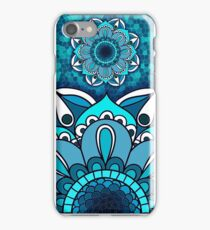 Blue Floral iPhone 7 Case, Flowers iPhone 5S Case, iPhone SE Case, iPhone 6 Plus iPhone Case/Skin