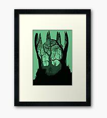 Witcher 3 - Geralt vs Leshen Framed Print