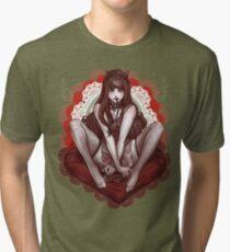 kawaii valentine Tri-blend T-Shirt