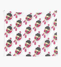 Black Bomberman - Super Bomberman R  Wall Tapestry