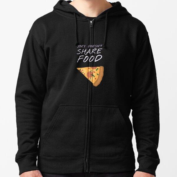 Joey - Food Zipped Hoodie