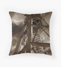 Lighthouse moods Throw Pillow