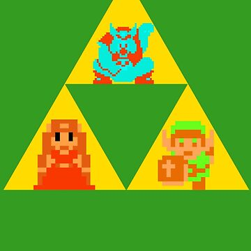 Triforce - The Legend Of Zelda by MrInky
