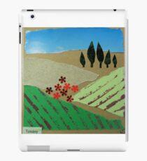 Collage of Tuscany landscape iPad Case/Skin