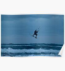 Kite Surfer Poster