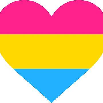 Pansexual Heart by kixlepixel