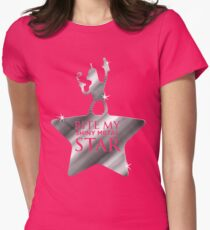 Bite My Shiny Metal Star Womens Fitted T-Shirt