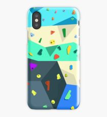 Bouldering Wall iPhone Case/Skin