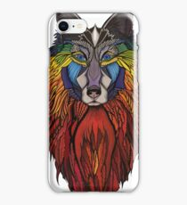 Wolfmother in Fire iPhone Case/Skin