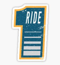 No. 1 Ride - Motorcycle Sticker