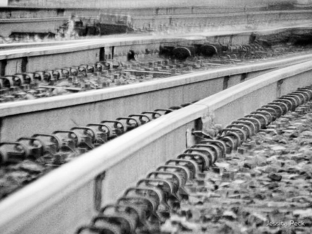 Train Tracks by Jessica Peck