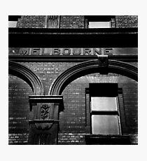 me!bourne Photographic Print