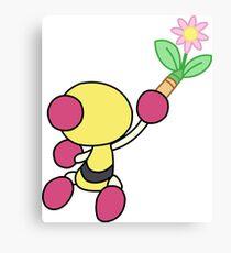 Yellow Bomberman - Super Bomberman R Canvas Print