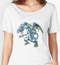 Blue Eyes White Dragon Yu-gi-oh Women's Relaxed Fit T-Shirt
