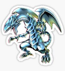 Blue Eyes White Dragon Yu-gi-oh Sticker