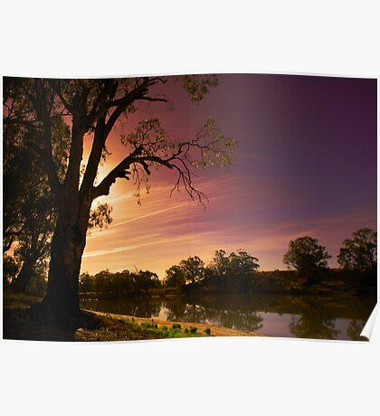 Wemen, Murray River Poster