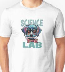 Science Lab Dog Unisex T-Shirt