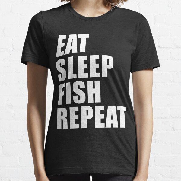 faim Sleeping chasse Drôle Anniversaire Cadeau Adulte Top Eat Sleep Shoot T-shirt