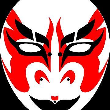 Kabuki Mask by uredian