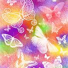 Beautiful Butterflies by Julie Everhart by Julie Everhart