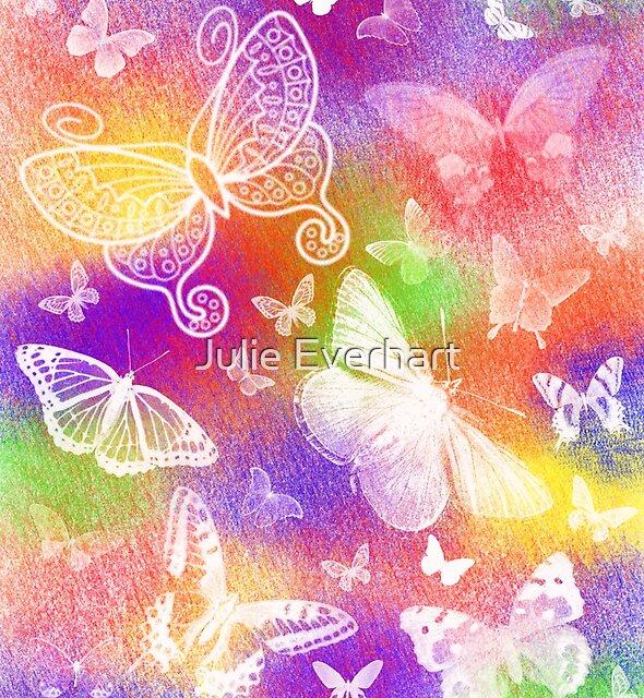 Beautiful Butterflies by Julie Everhart by Julie Everhart