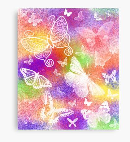 Beautiful Butterflies by Julie Everhart Metal Print