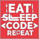 Eat Sleep Code by Explicit Designs