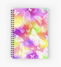 Beautiful Butterflies by Julie Everhart Spiral Notebook