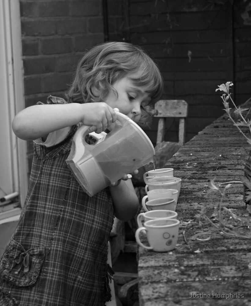 Tea Party by Justine Humphries